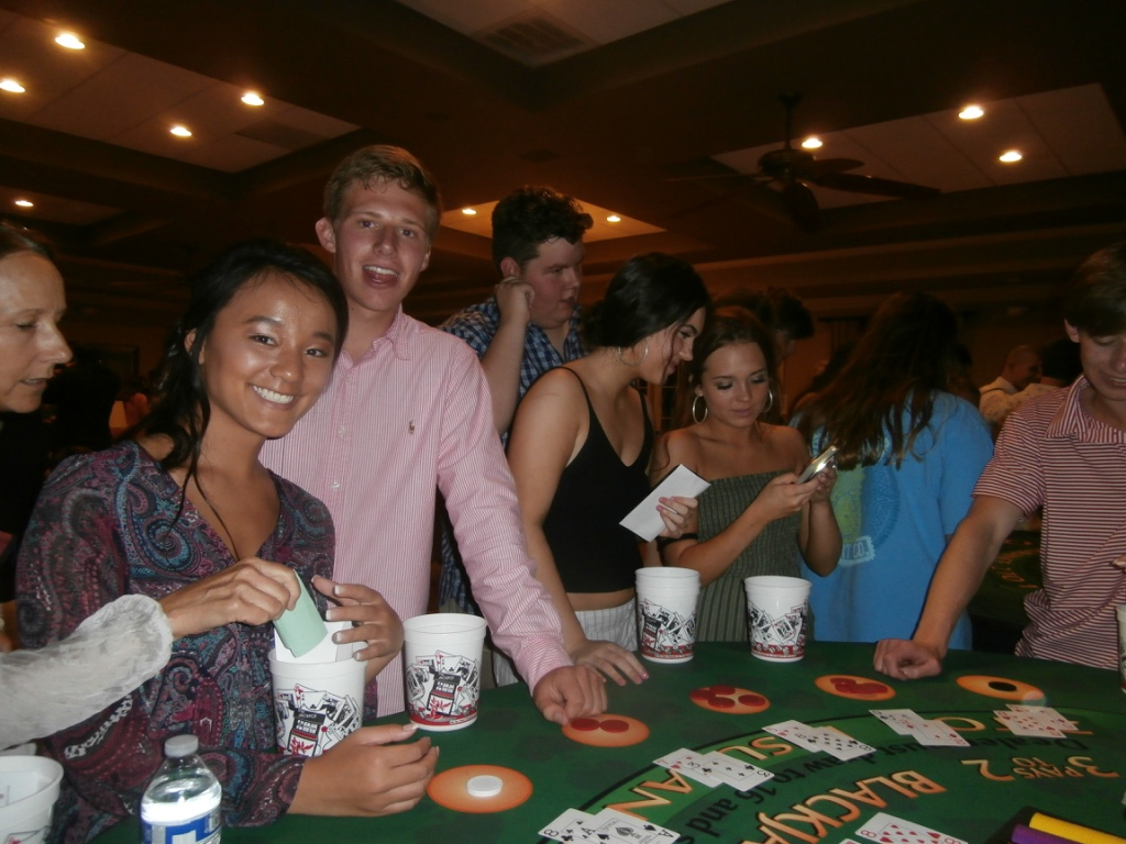 north carolina casino night parties